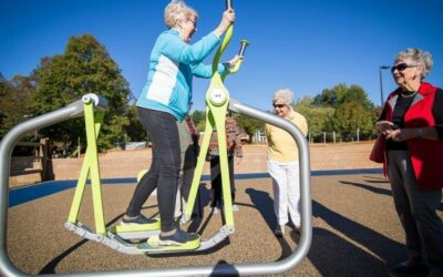 CHARLOTTE OBSERVER – New Charlotte playground for the young at heart